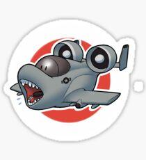 A-10 TEETH Sticker