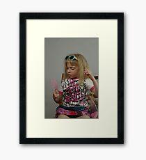 Pink Doll Framed Print