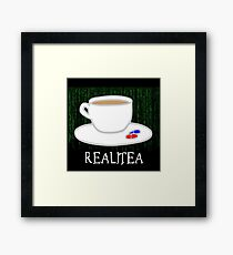 Realitea - Matrix Parody Framed Print