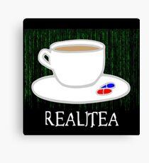 Realitea - Matrix Parody Canvas Print