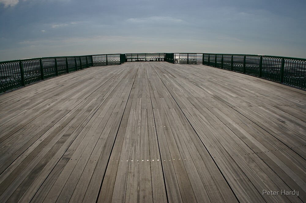 St Annes Pier by Peter Hardy