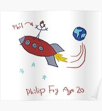 Phil age 20 Poster
