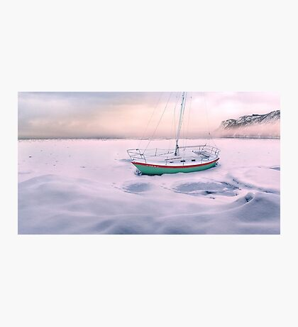 Memories of Seasons Past - Prisoner of Ice Photographic Print