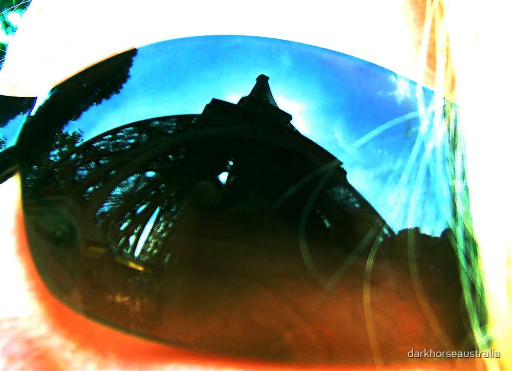 Eiffel Reflections by darkhorseaustralia