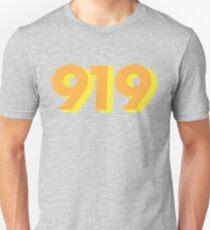 919 - Triangle, North Carolina Unisex T-Shirt
