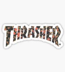Thrasher Floral Sticker