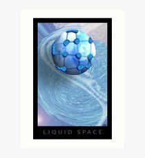 Liquid Space Art Print