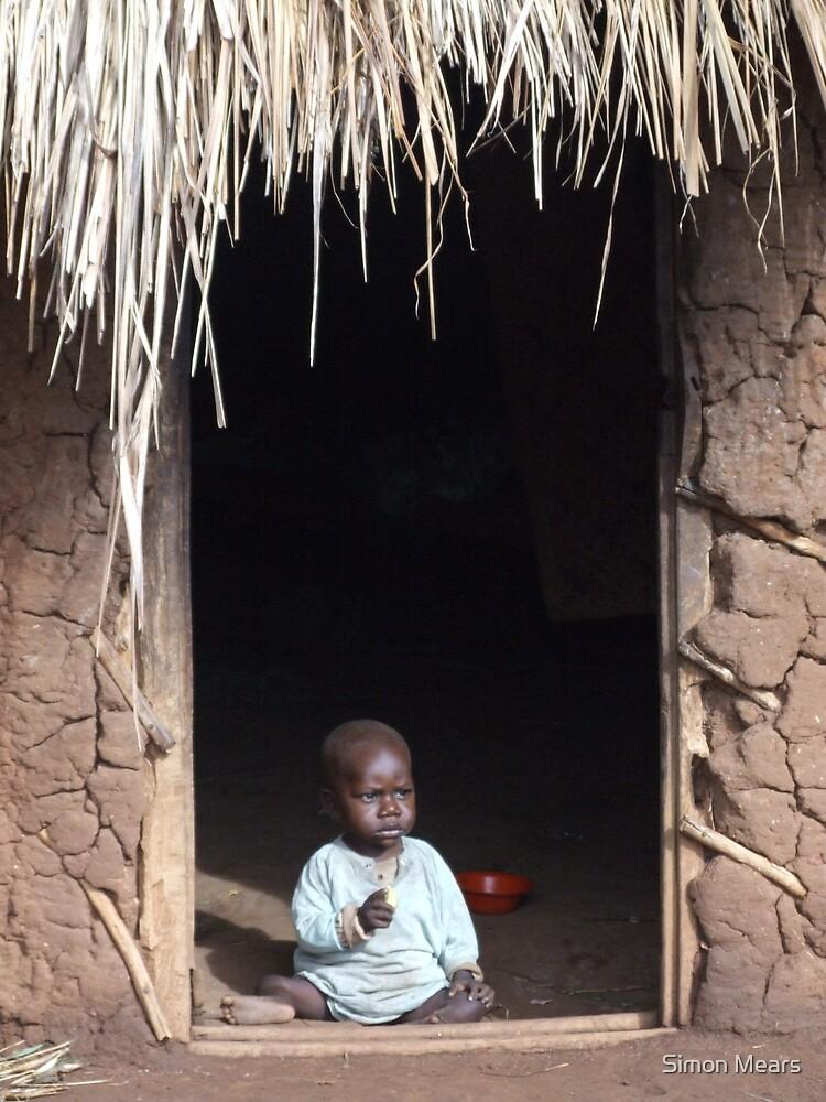 Baby at Home, Uganda by Simon Mears