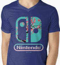 Nintendo Switch Men's V-Neck T-Shirt