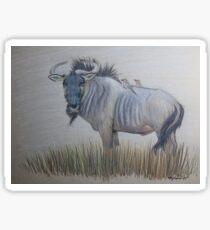 Wildebeest  Sticker