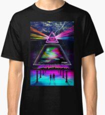 Static Intelligence - VHS 80s Retro Glitch Classic T-Shirt
