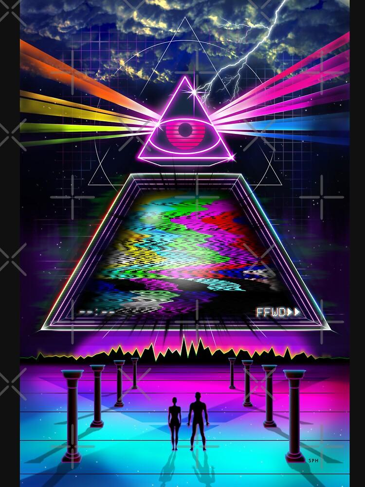 Statische Intelligenz - VHS 80s Retro Glitch von forge22