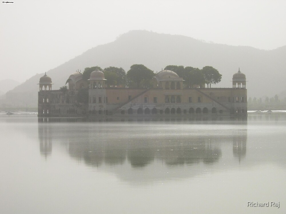 The Water Palace of Rajisthan by Richard Raj