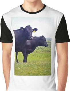 Cley Cows Too A Graphic T-Shirt