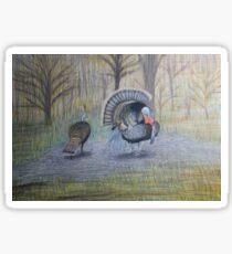 Turkeys Sticker