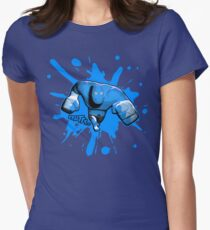 Brutes.io (Brawler Run Blue) Women's Fitted T-Shirt