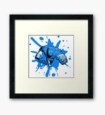 Brutes.io (Brawler Run Blue) Framed Print