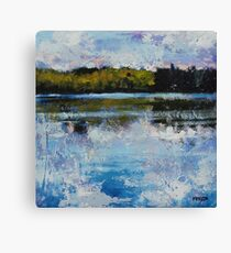 Clouds, Wind, Water Canvas Print