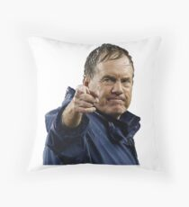 Bill Belichick Throw Pillow