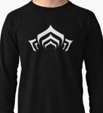 Warframe lotus symbol white Lightweight Sweatshirt
