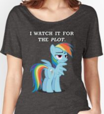 For the Plot (Rainbowdash) Women's Relaxed Fit T-Shirt