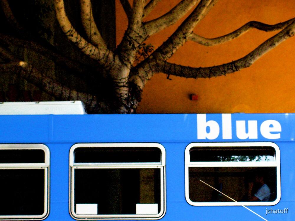 big blue bus by jchatoff