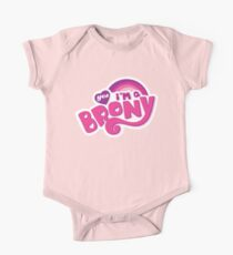 Yes I'm a Brony - My Little Pony Parody (Ver. 1) Kids Clothes