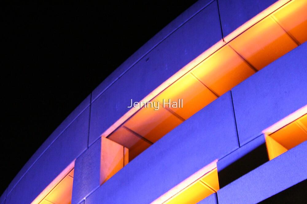 Building blues by Jenny Hall