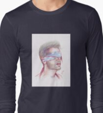 Close Your Eyes Long Sleeve T-Shirt