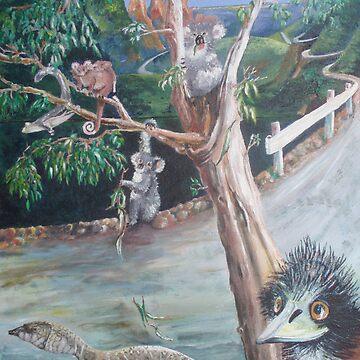 Aussie Animals by beryl
