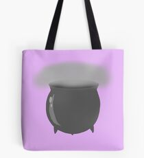 Silver Cauldron Logo Tote Bag
