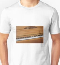 Tickling the Ivories - Piano Keyboard T-Shirt