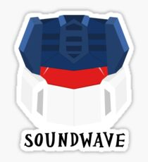 Soundwave [G1] Sticker