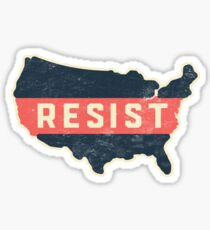 Resist Trump Across America Sticker