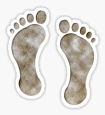 Surf Feet Sticker