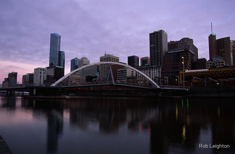 Melbourne City by Rob Leighton