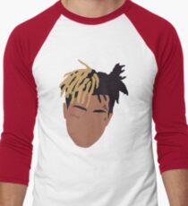 XXXTENTACION Minimal Design - Red Men's Baseball ¾ T-Shirt