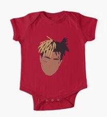 XXXTENTACION Minimal Design - Red One Piece - Short Sleeve