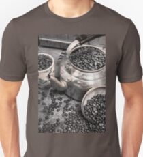 Pot of old coffee beans Unisex T-Shirt