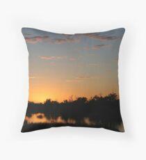 Sunrise Birdsville Throw Pillow