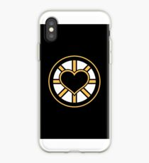 For the Love of Bruins iPhone Case