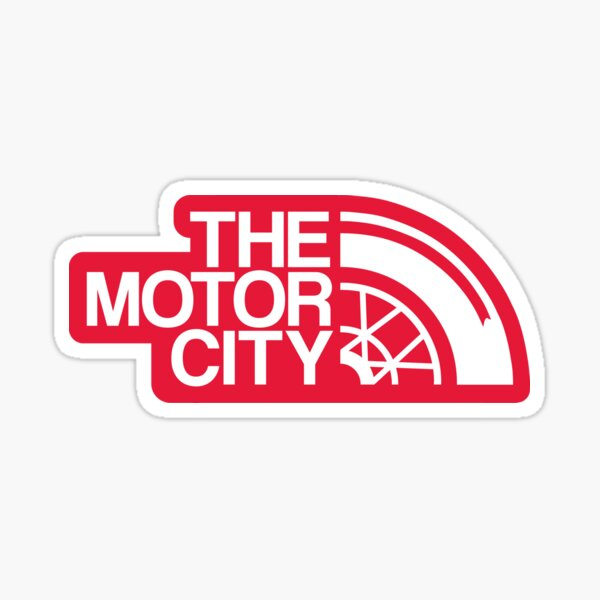 The Motor City Sticker