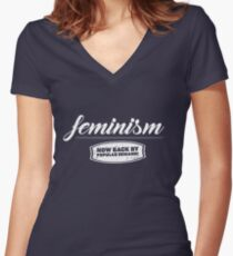 Feminism - now back by popular demand Women's Fitted V-Neck T-Shirt