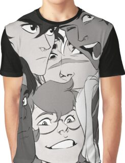 Photo Booth Family Graphic T-Shirt