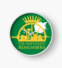 The Northwest Remembers Clock