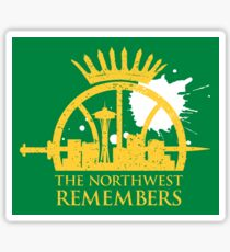 The Northwest Remembers Sticker