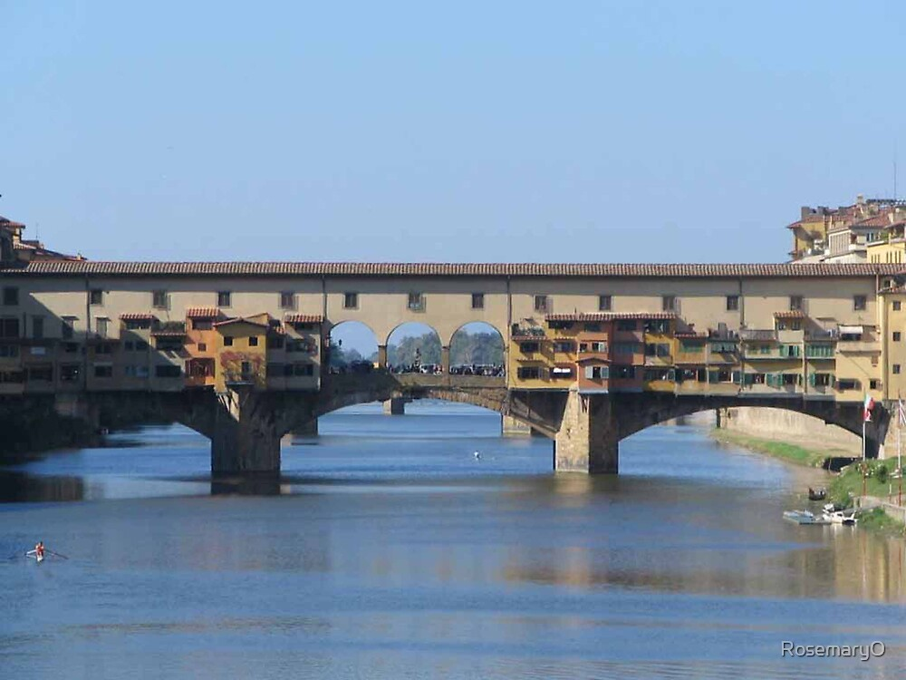 Ponte Vecchio, Florence by RosemaryO