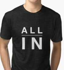 Camiseta de tejido mixto Todo dentro.