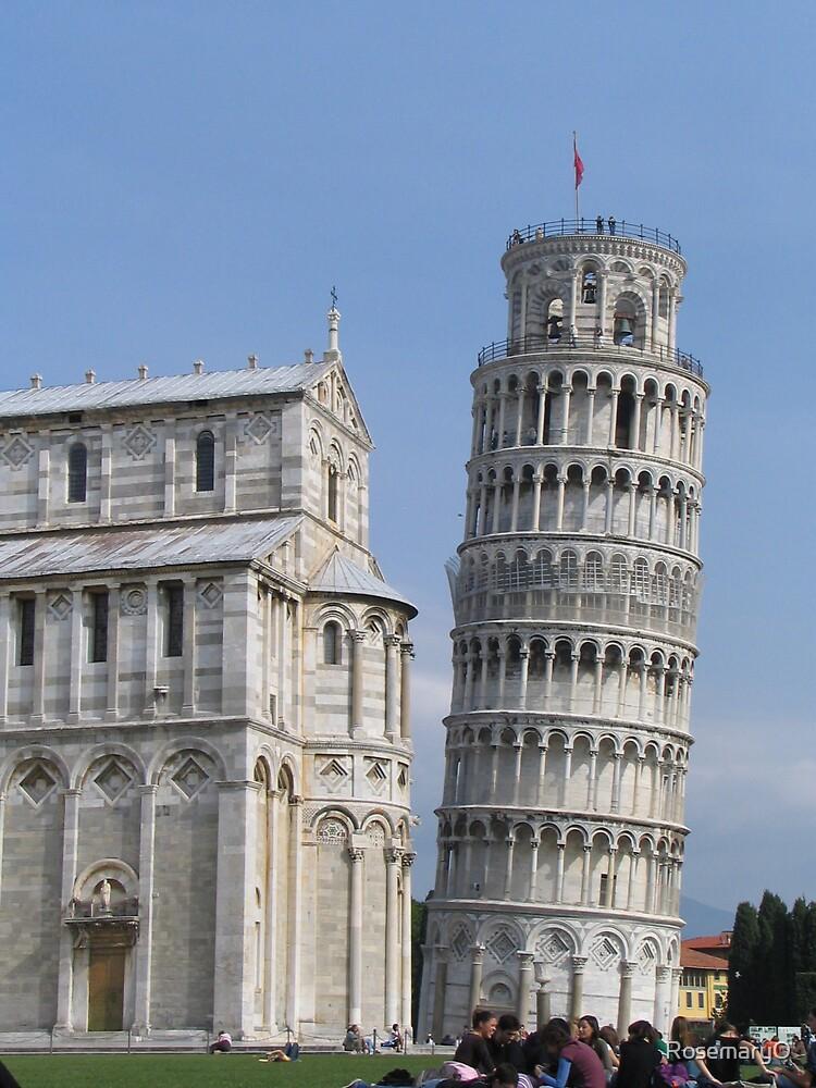 Leaning Tower of Pisa by RosemaryO