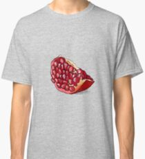 Hand drawn illustration of pomegranate. Classic T-Shirt